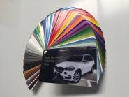 Farbfächer Avery Dennison Supreme Wrapping Film inkl. Color Flow - neue Farben