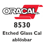ORACAL 8530 Etched Glass Cal ablösbar 126cm