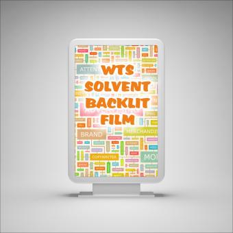 WTS - SOLVENT BACKLIT FILM - 30m