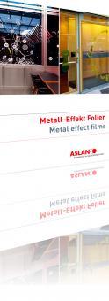 ASLAN CA 24 Farbige Metall-Effekt Folie 122 cm x 24m
