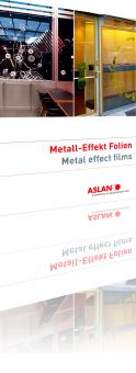 ASLAN CA 23 Metall-Effekt Folie 125 cm