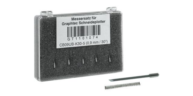 WTS Plotter-Messersatz 0,9mm 45° - für Messerhalter Blau