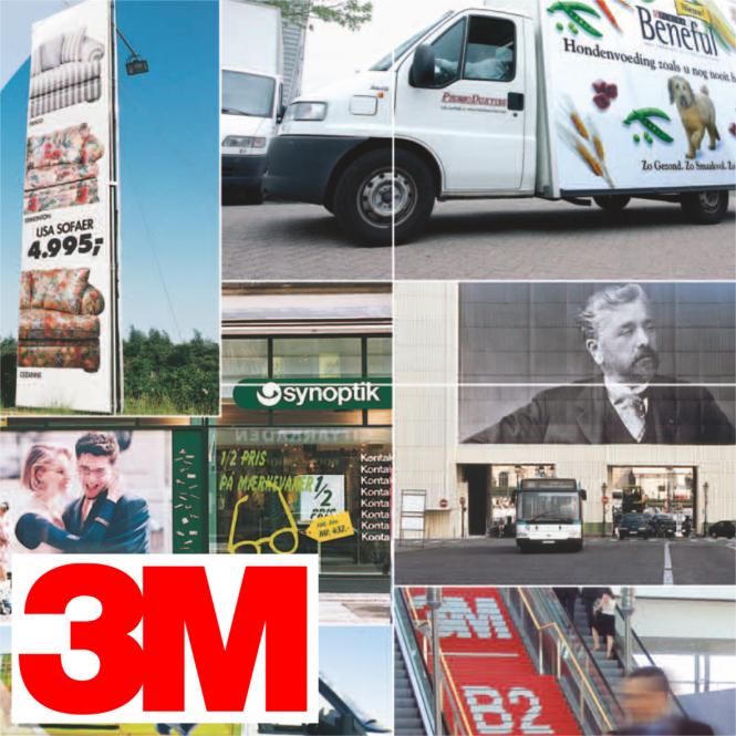 3M Envision LX 480 Cv3 Print Wrap - 25m