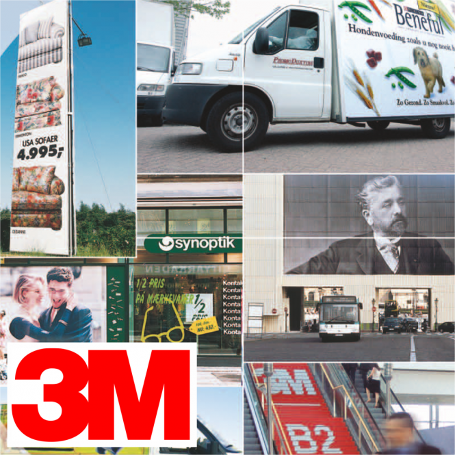 3M Envision SV 480 Cv3 Print Wrap - 25 Lfm