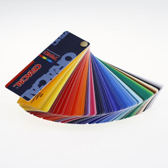 Farbfächer ORACAL 751c