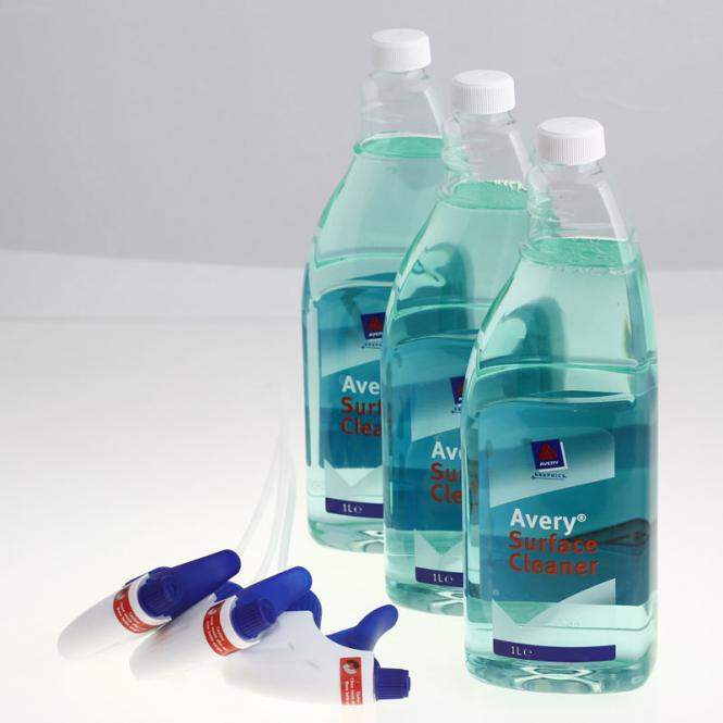 Avery Dennison Surface Cleaner 1l Flasche