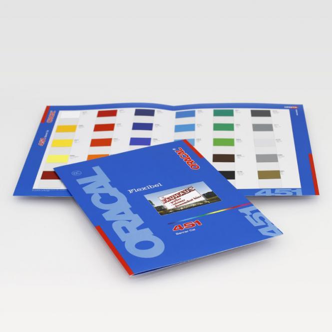 Farbkarte ORACAL 451