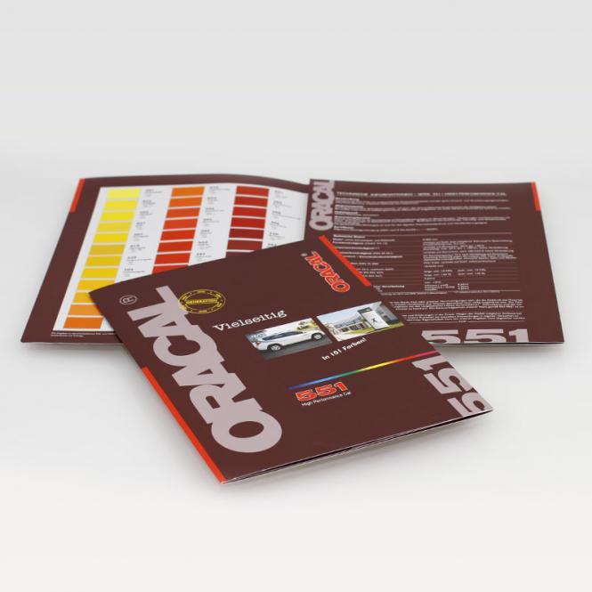 Farbkarte ORACAL 551