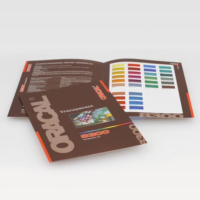 Farbkarte ORACAL 8300