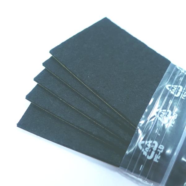 Filzersatz schwarz für 10cm-Rakel 5er VE